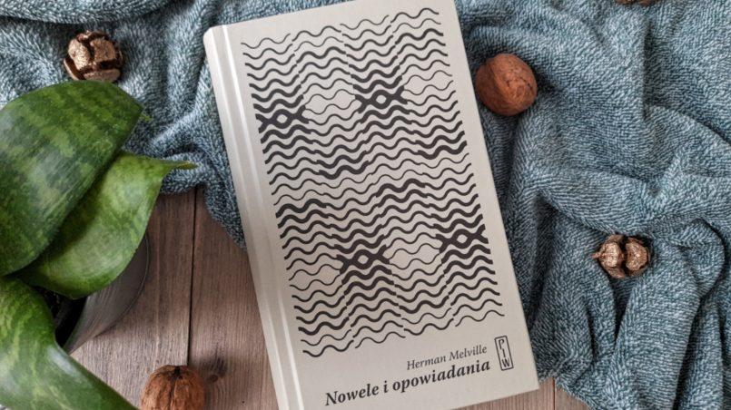 """okładka książki """"Nowele i opowiadania"""" Herman Melville"""