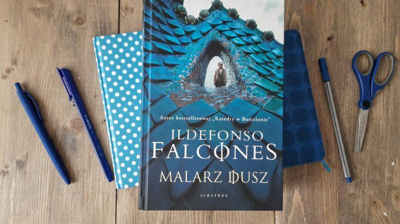 """okładka książki """"Malarz dusz"""" Ildefonso Falcones"""