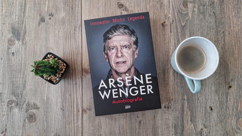 "okładka książki ""Arsene Wenger. Autobiografia"""