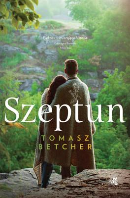 """okładka książki """"Szeptun"""" Tomasz Betcher"""