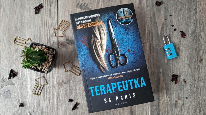 "okładka książki ""Terapeutka"" B.A. Paris"