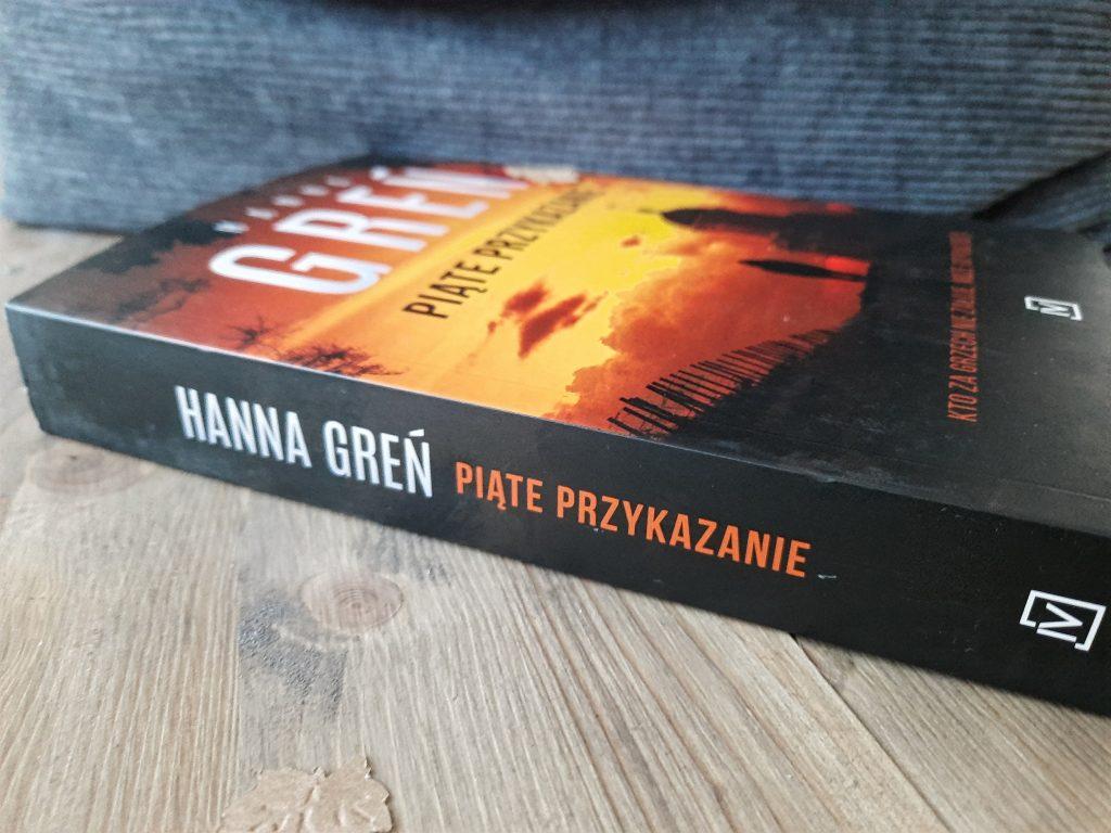 """""""Piąte przykazanie"""" Hanna Greń"""