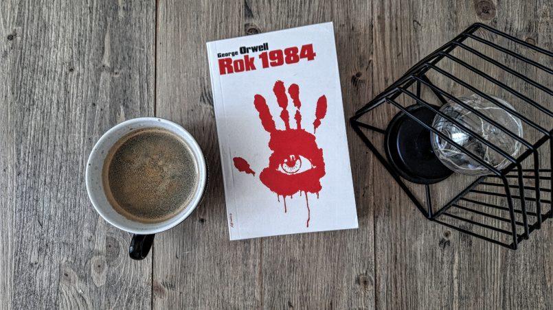 "okładka książki ""Rok 1984"" George Orwell"