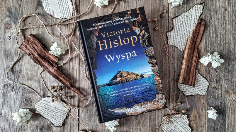 "okładka książki ""Wyspa"" Victoria Hislop"